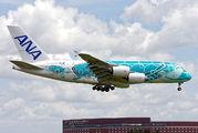 JA382A - ANA - All Nippon Airways Airbus A380 aircraft