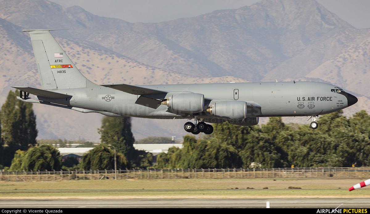 USA - Air Force 64-14835 aircraft at Santiago de Chile - Arturo Merino Benítez Intl