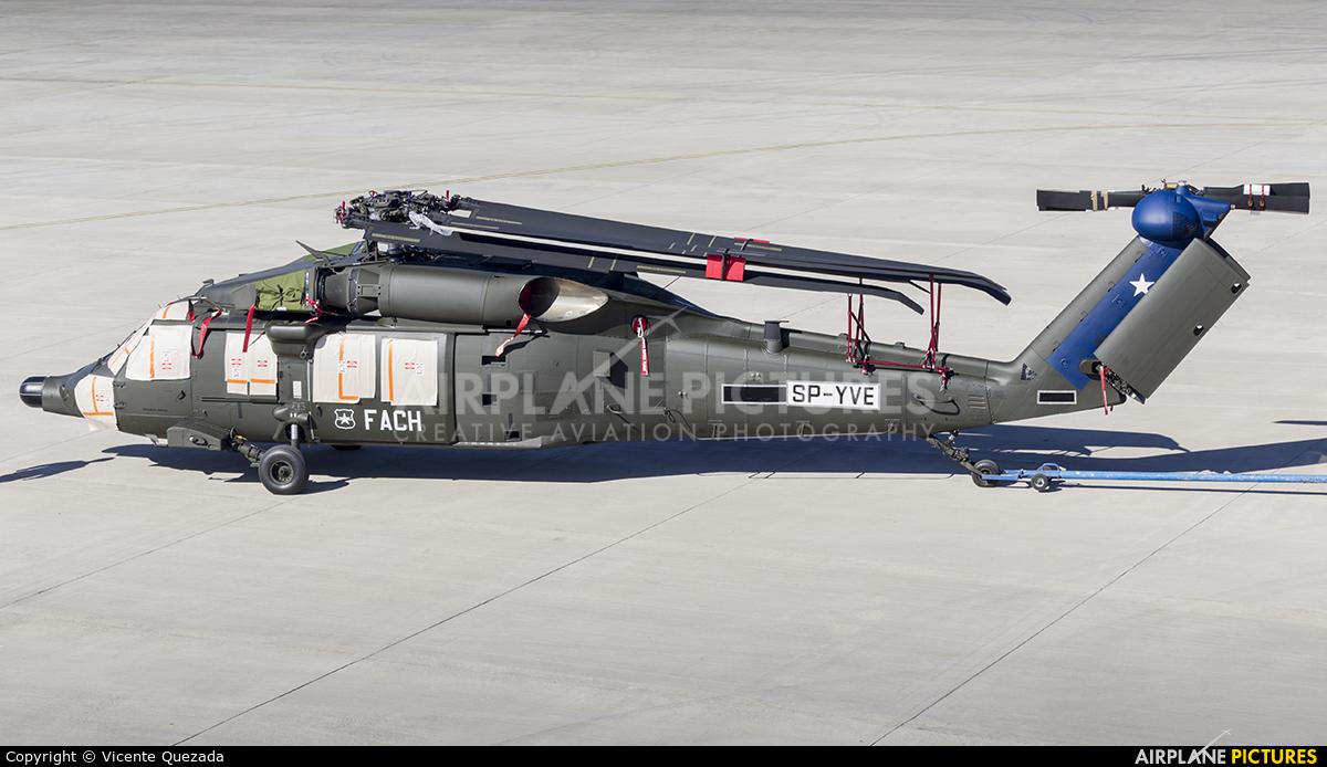 PZL Mielec SP-YVE aircraft at Santiago de Chile - Arturo Merino Benítez Intl