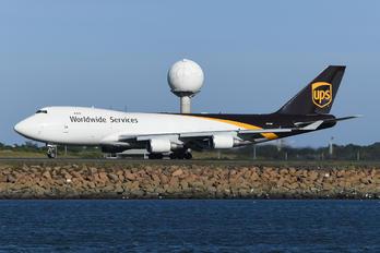N575UP - UPS - United Parcel Service Boeing 747-400F, ERF