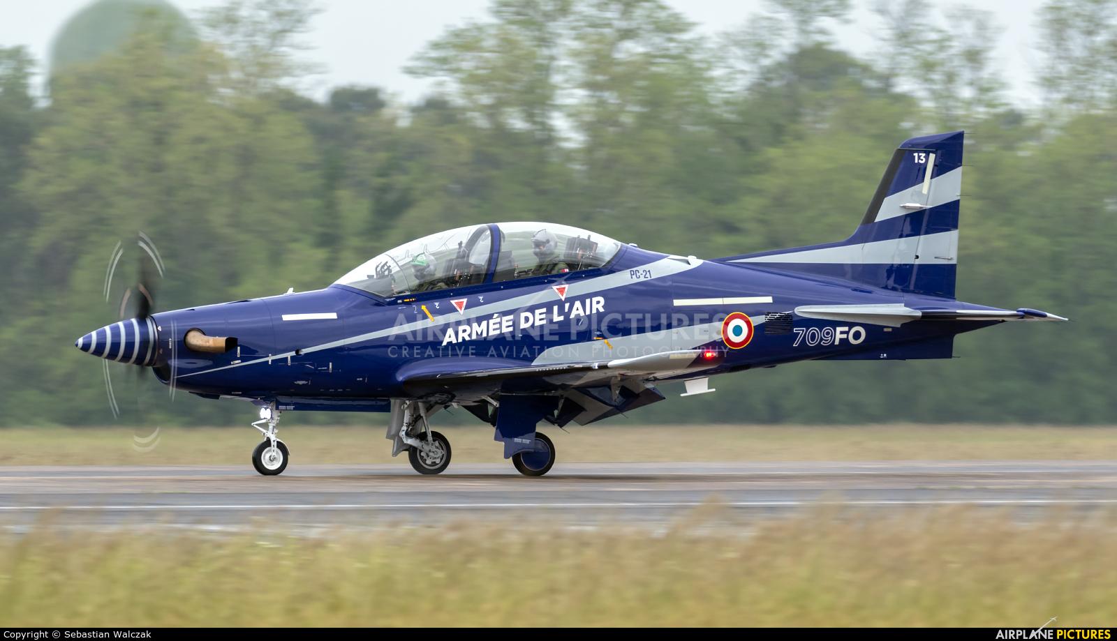 France - Air Force 13 aircraft at Mont de Marsan