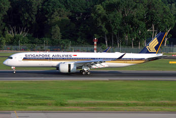 9V-SHF - Singapore Airlines Airbus A350-900