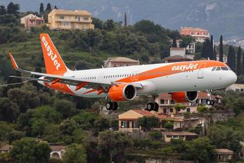 G-UZMF - easyJet Airbus A321 NEO
