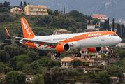 G-UZMF - easyJet Airbus A321 NEO aircraft