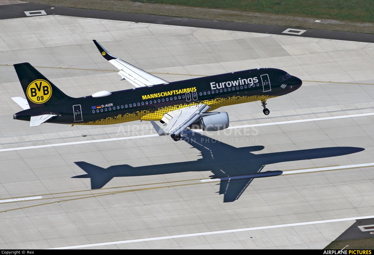 Eurowings D-AIZR aircraft at Cologne Bonn - Konrad Adenauer