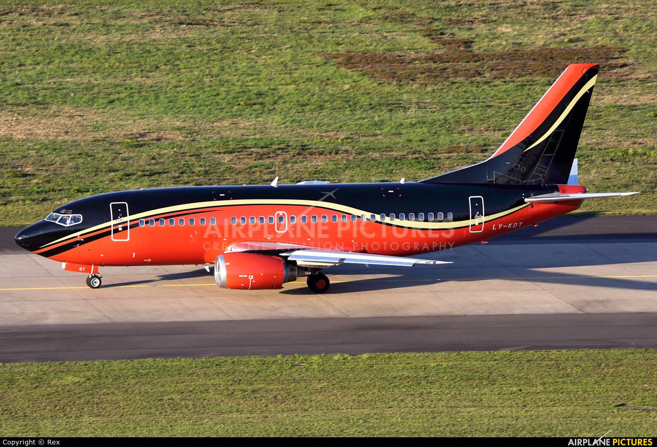 KlasJet LY-KDT aircraft at Cologne Bonn - Konrad Adenauer