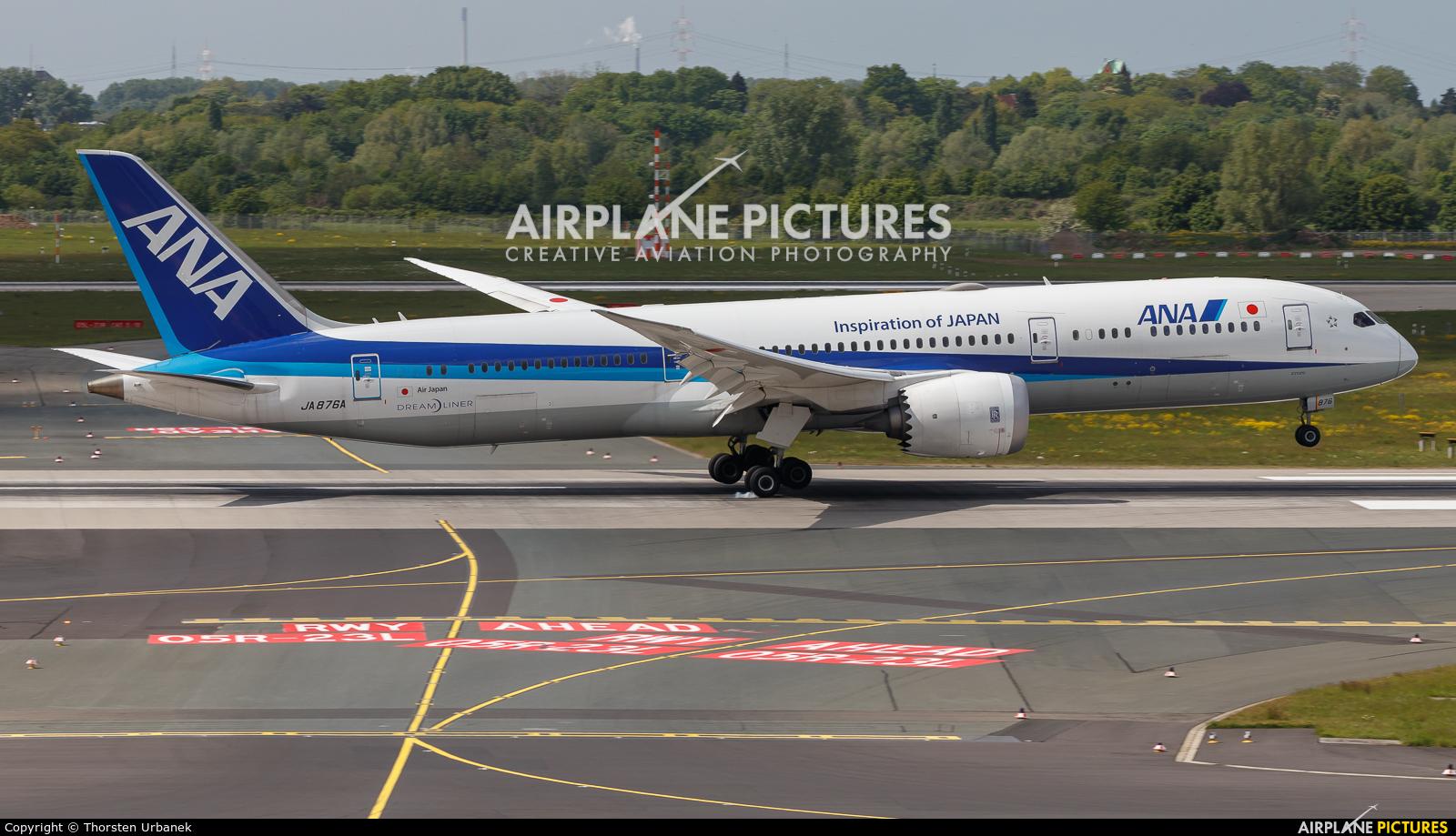 ANA - All Nippon Airways JA876A aircraft at Düsseldorf