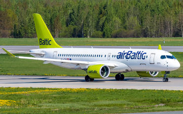 YL-CSE - Air Baltic Airbus A220-300