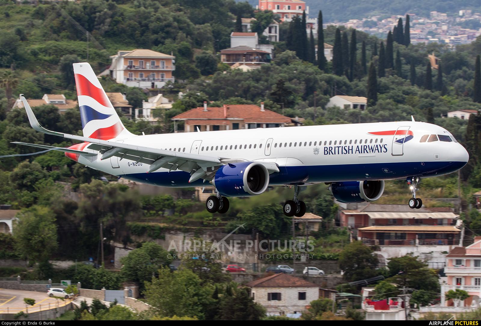 British Airways G-NEOU aircraft at Corfu - Ioannis Kapodistrias