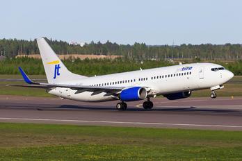 OY-JZJ - Jet Time Boeing 737-800