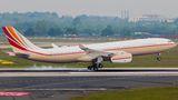 Rare visit of Jet Aviation Airbus A330 Prestige to Dusseldorf