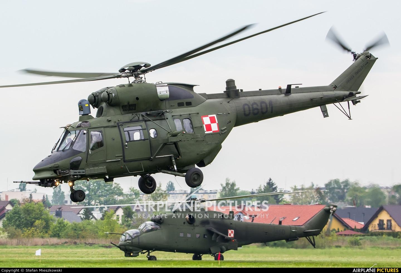 Poland - Army 0601 aircraft at Inowrocław