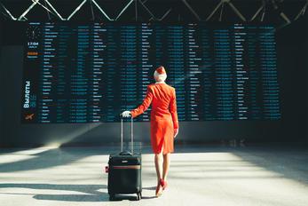 - - Aeroflot - Aviation Glamour - Flight Attendant