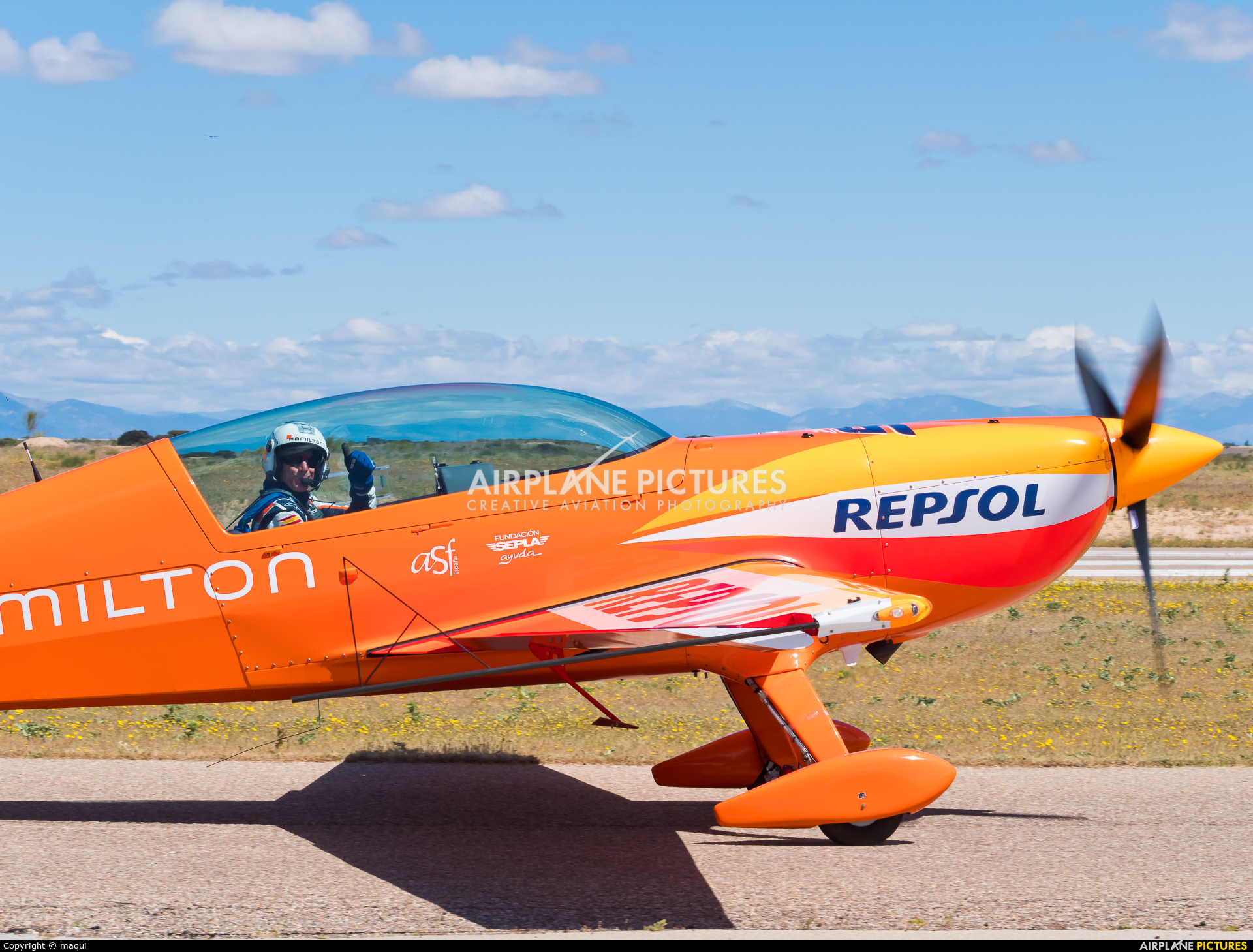 Private D-ESSP aircraft at Casarrubios del Monte