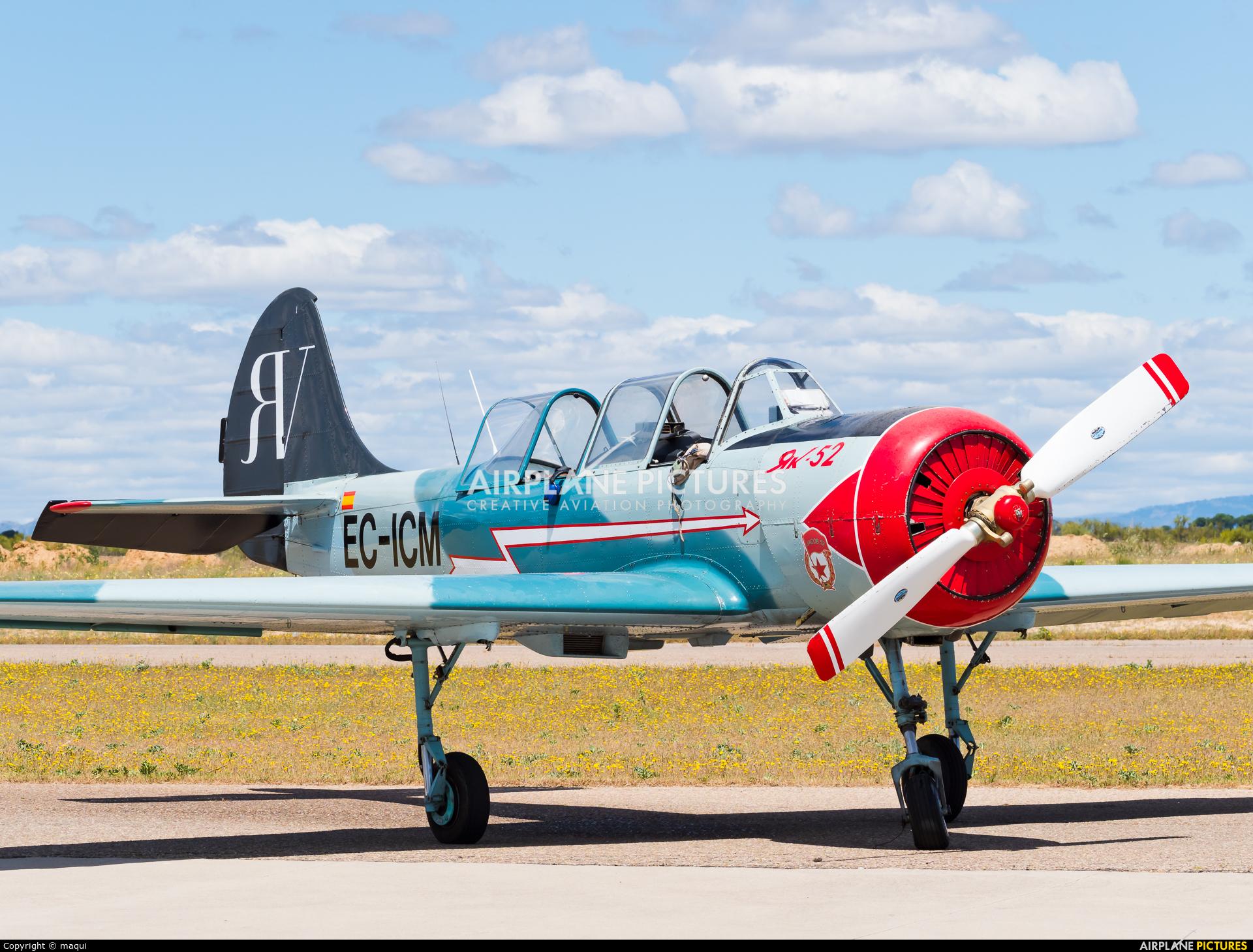 """Asociación Deportiva """"Jacob 52"""" EC-ICM aircraft at Casarrubios del Monte"""