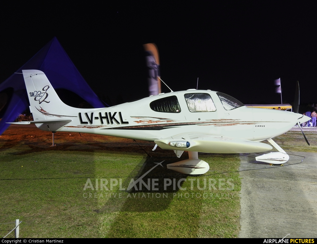Private LV-HKL aircraft at Reconquista - Daniel Jurkic