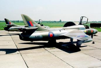 XL613 - Royal Air Force Hawker Hunter T.7