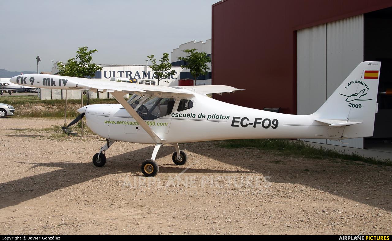 Private EC-FO9 aircraft at Igualada - Odena