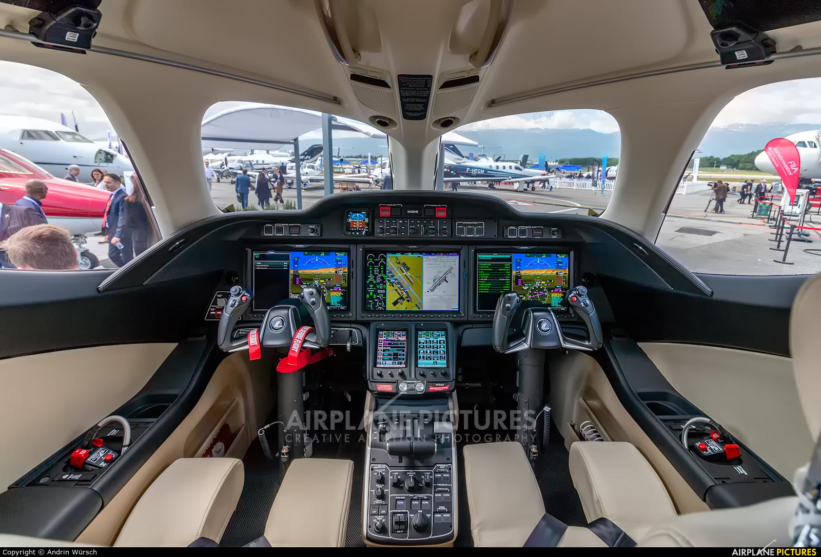 Honda Aerospace N139HE aircraft at Geneva Intl