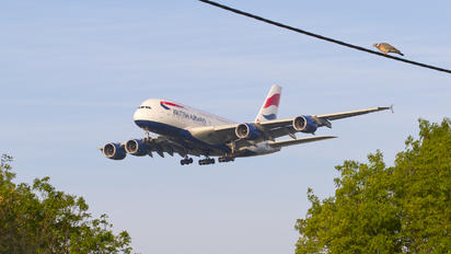 G-XLEL - British Airways Airbus A380