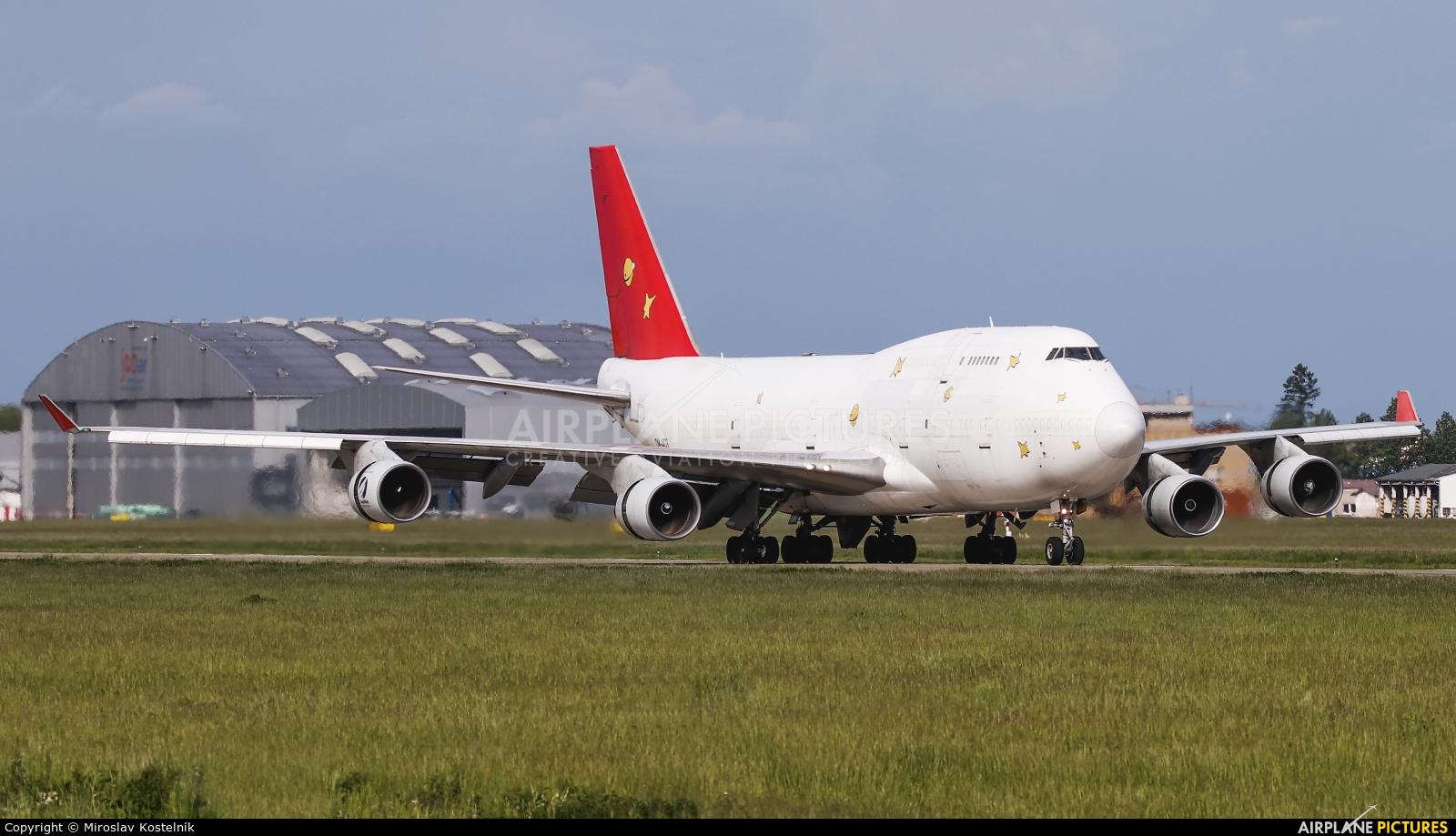 Air Cargo Global OM-ACG aircraft at Ostrava Mošnov