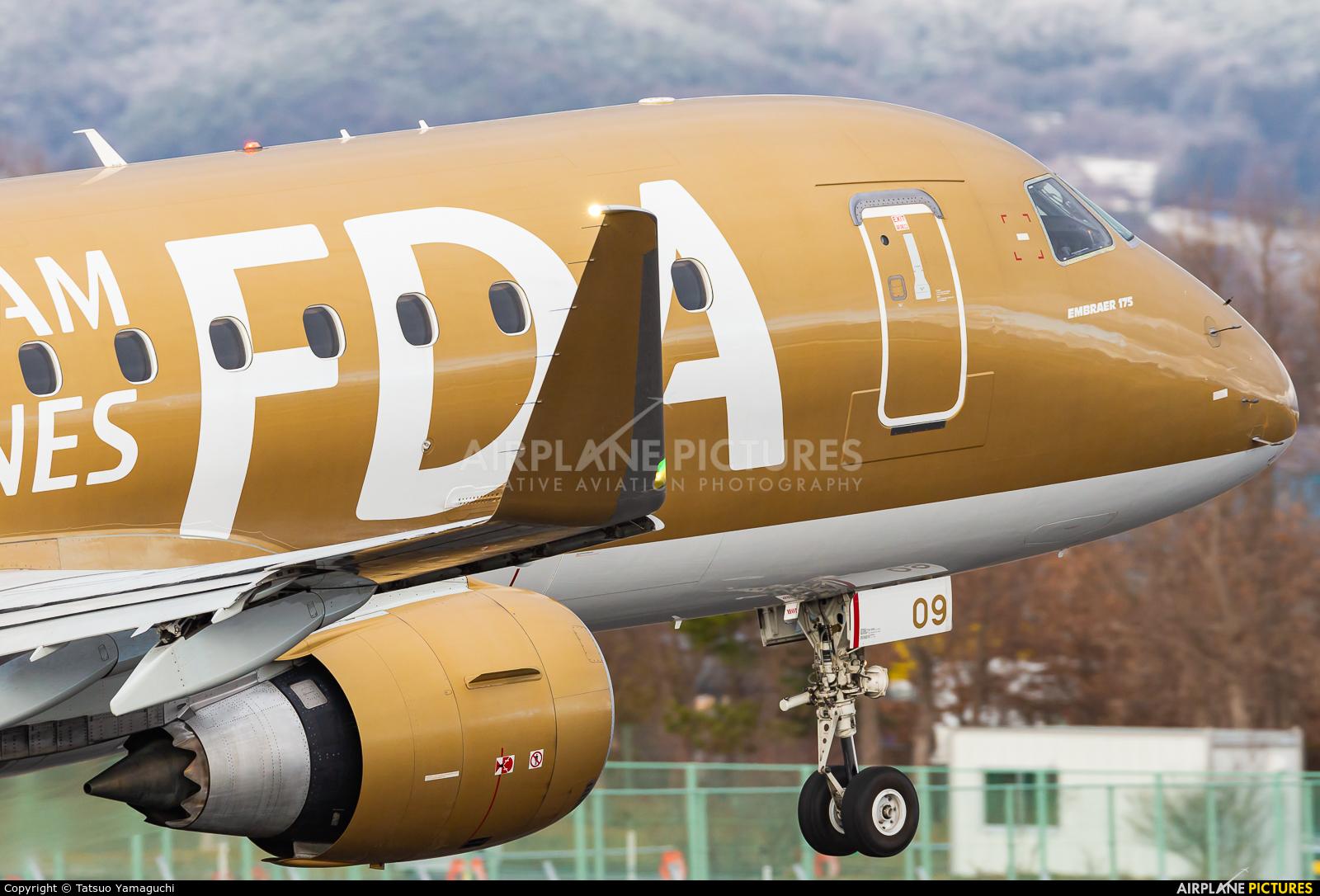 Fuji Dream Airlines JA09FJ aircraft at Shinshu - Matsumoto