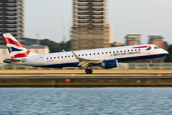 G-LCYV - British Airways - City Flyer Embraer ERJ-190 (190-100)