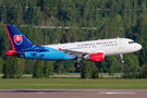 Slovak Government Airbus A319 visited Helsinki