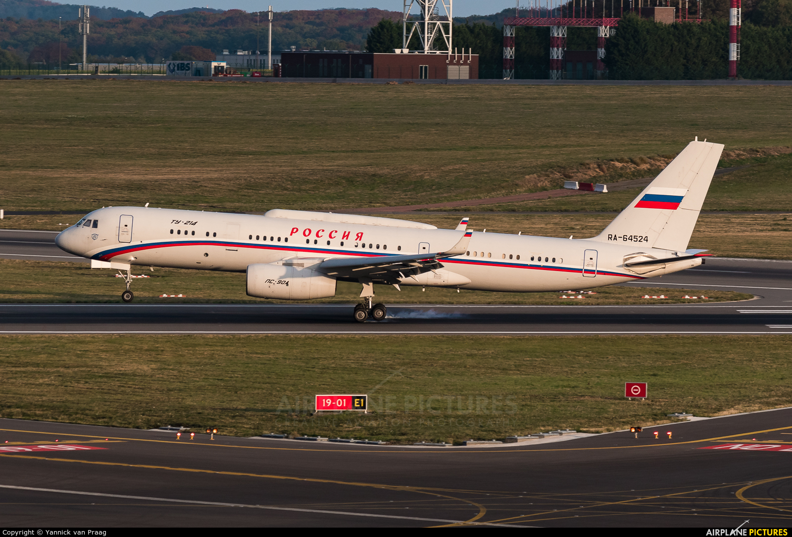 Russia - Government RA-64524 aircraft at Brussels - Zaventem