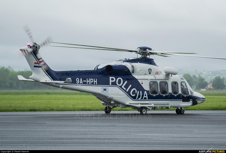 Croatia - Police 9A-HPH aircraft at Krosno