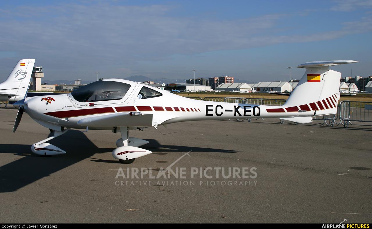 Private EC-KEQ aircraft at Sabadell