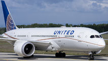N28912 - United Airlines Boeing 787-8 Dreamliner aircraft
