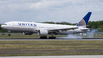 N217UA - United Airlines Boeing 777-200ER aircraft