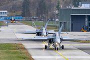 J-5014 - - Airport Overview McDonnell Douglas F/A-18C Hornet aircraft
