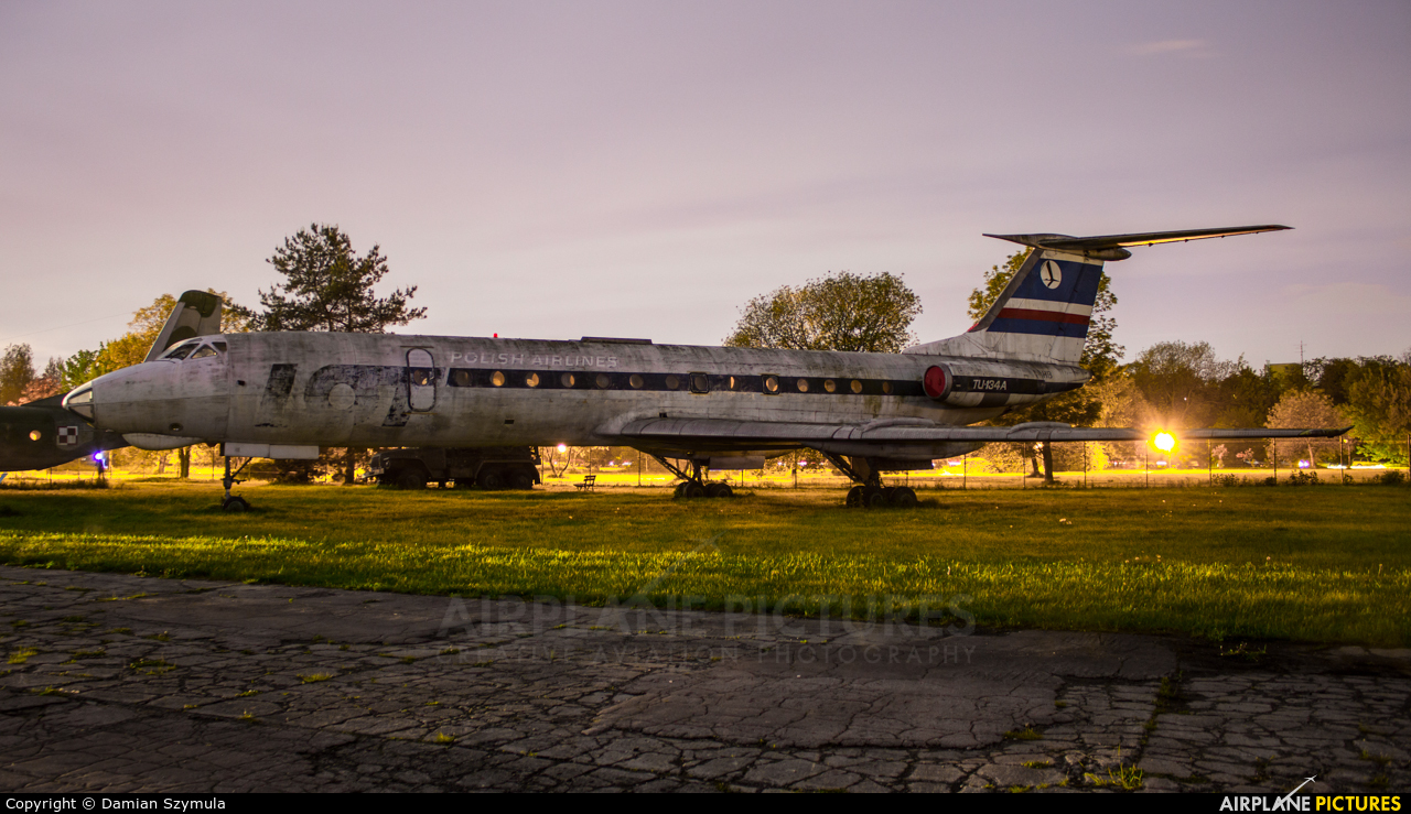 LOT - Polish Airlines SP-LHB aircraft at Kraków, Rakowice Czyżyny - Museum of Polish Aviation