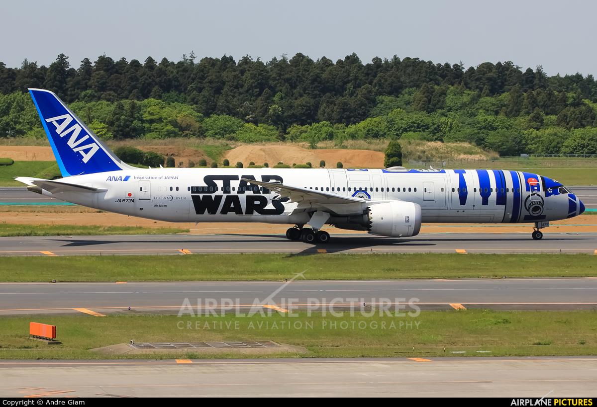 JA873A - ANA - All Nippon Airways Boeing 787-9 Dreamliner at