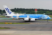 JA381A - ANA - All Nippon Airways Airbus A380 aircraft