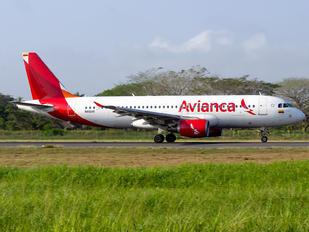 N416AV - Avianca Airbus A320