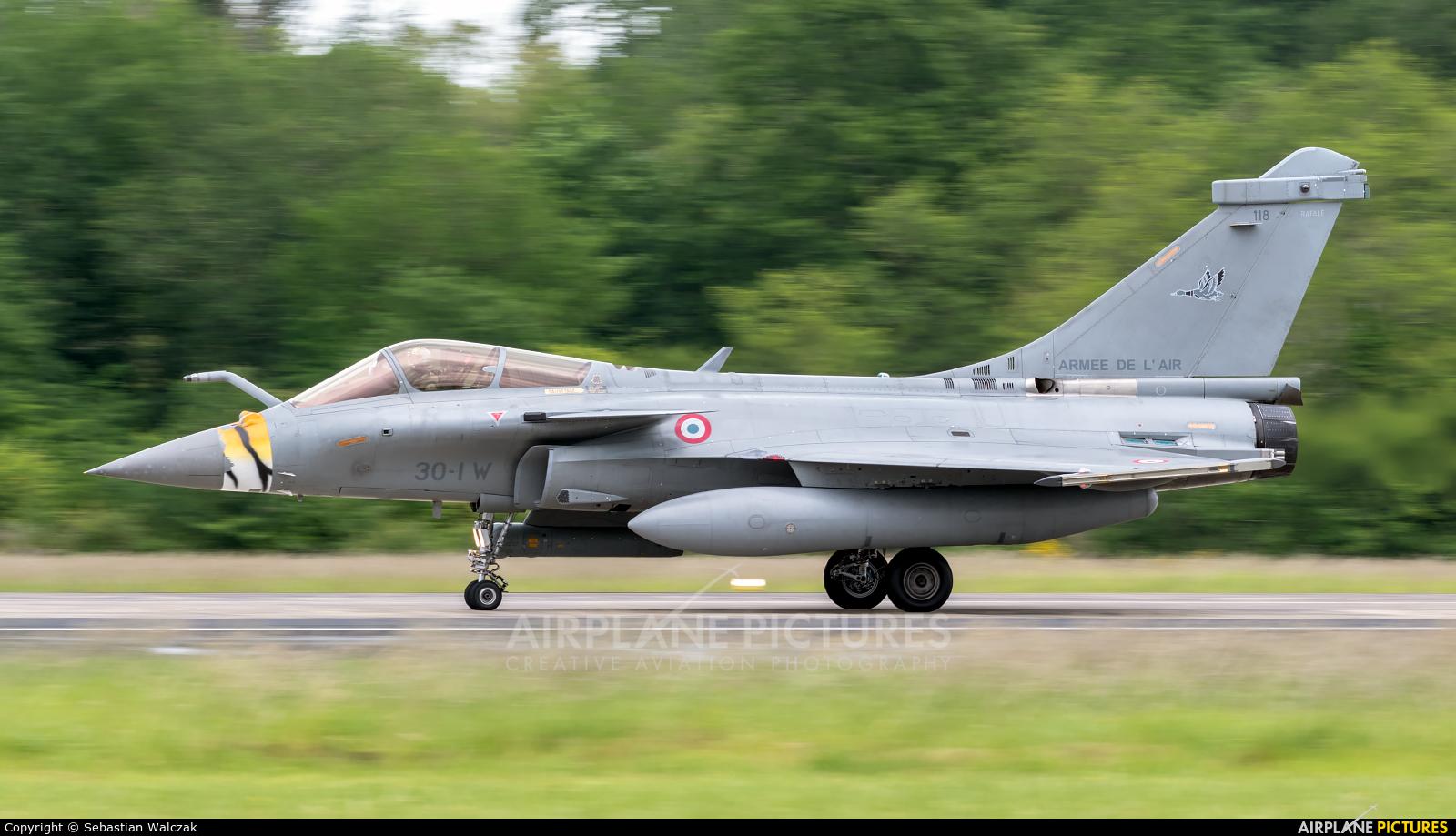 France - Air Force 118 aircraft at Mont de Marsan