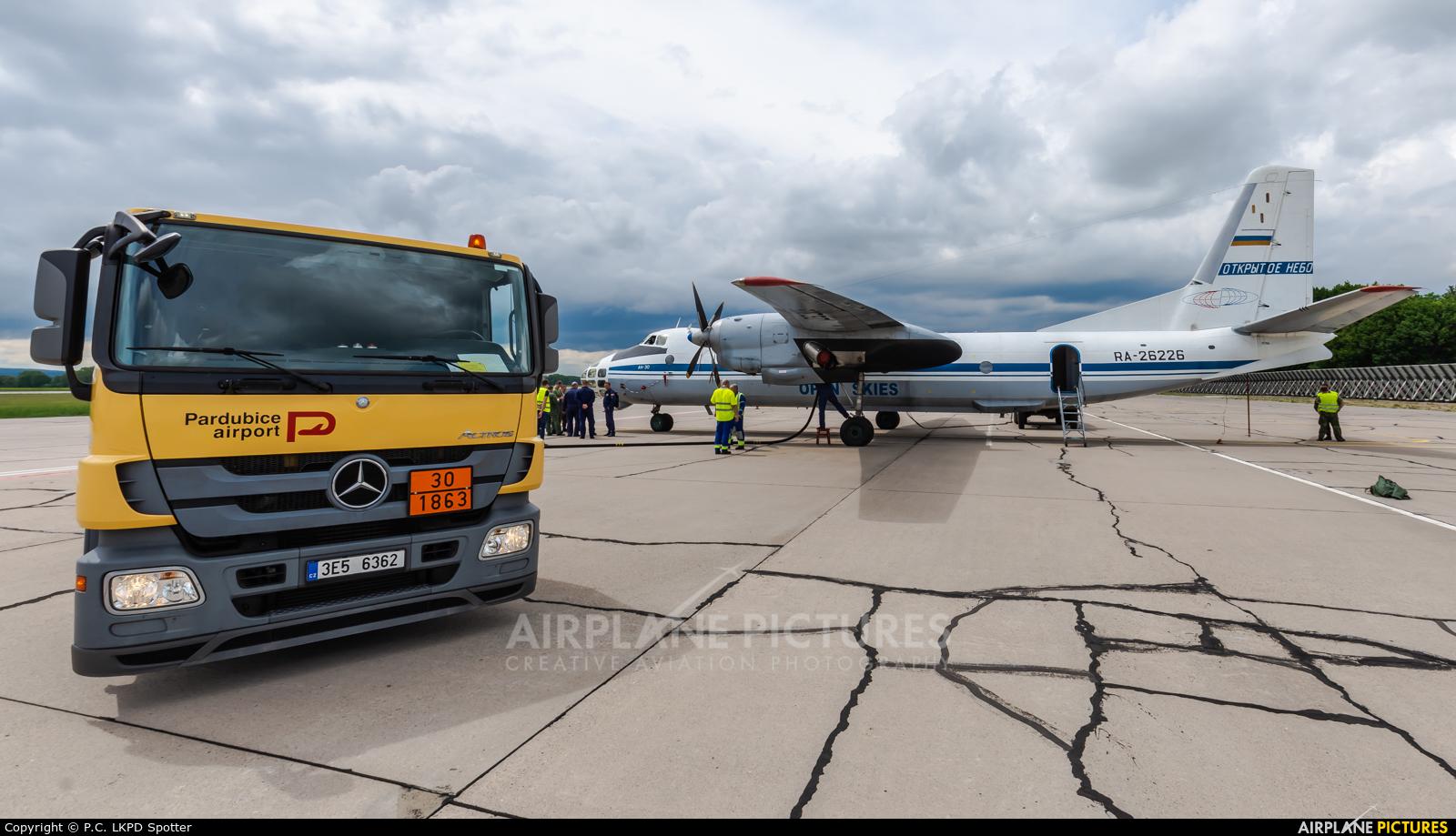 Russia - Air Force RA-26226 aircraft at Pardubice