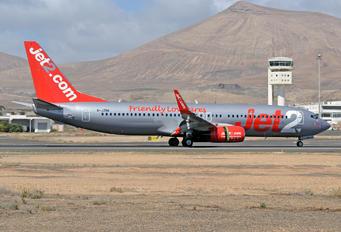 G-JZBK - Jet2 Boeing 737-8MG