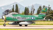 FU-675 - Privajet North American F-86 Sabre aircraft