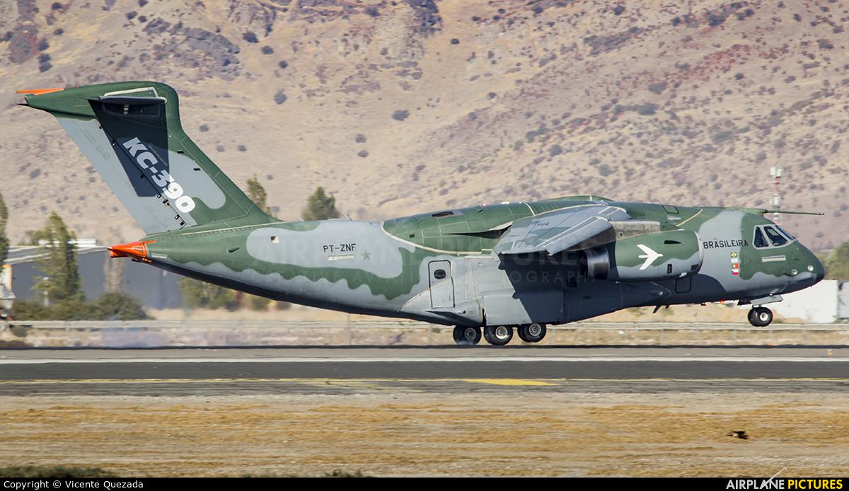 Brazil - Air Force PT-ZNF aircraft at Santiago de Chile - Arturo Merino Benítez Intl