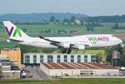 Wamos Air Boeing 747 visited Zurich title=