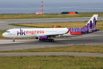 B-LEL - Hong Kong Express Airbus A321