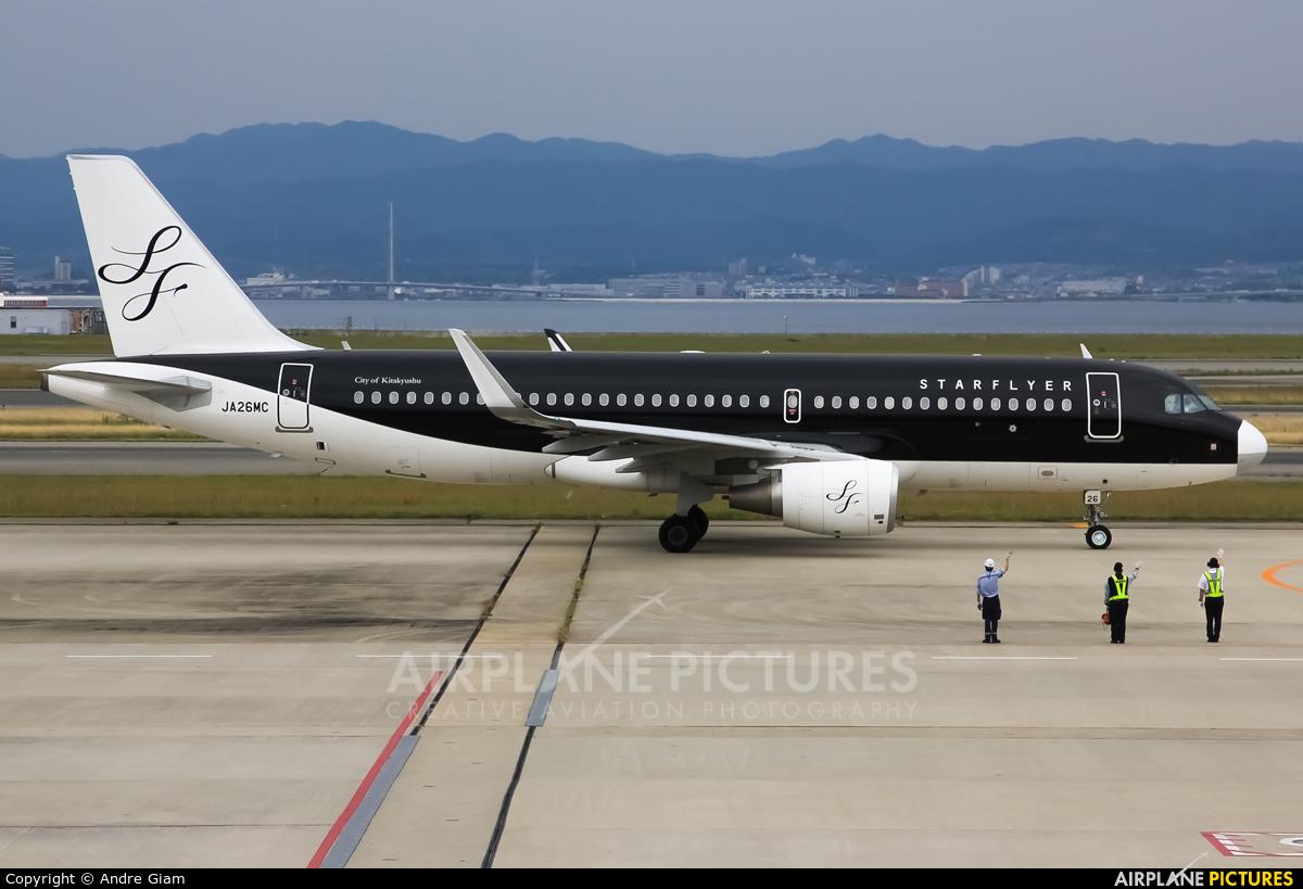 Starflyer JA26MC aircraft at Kansai Intl