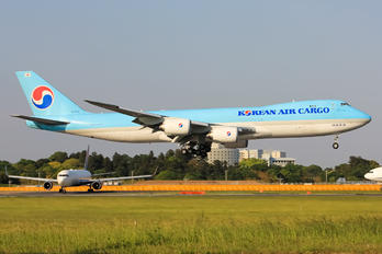 HL7639 - Korean Air Cargo Boeing 747-8F