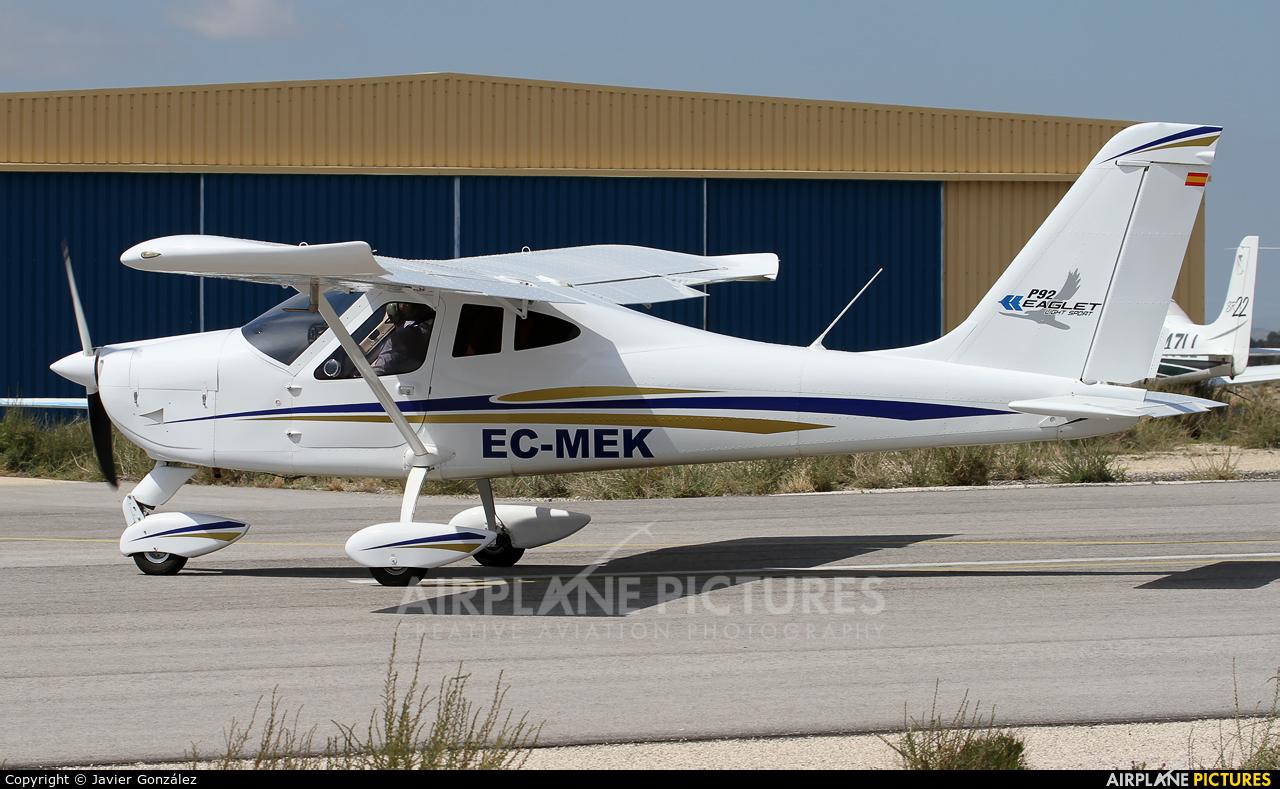 Private EC-MEK aircraft at Alicante - Muchamiel