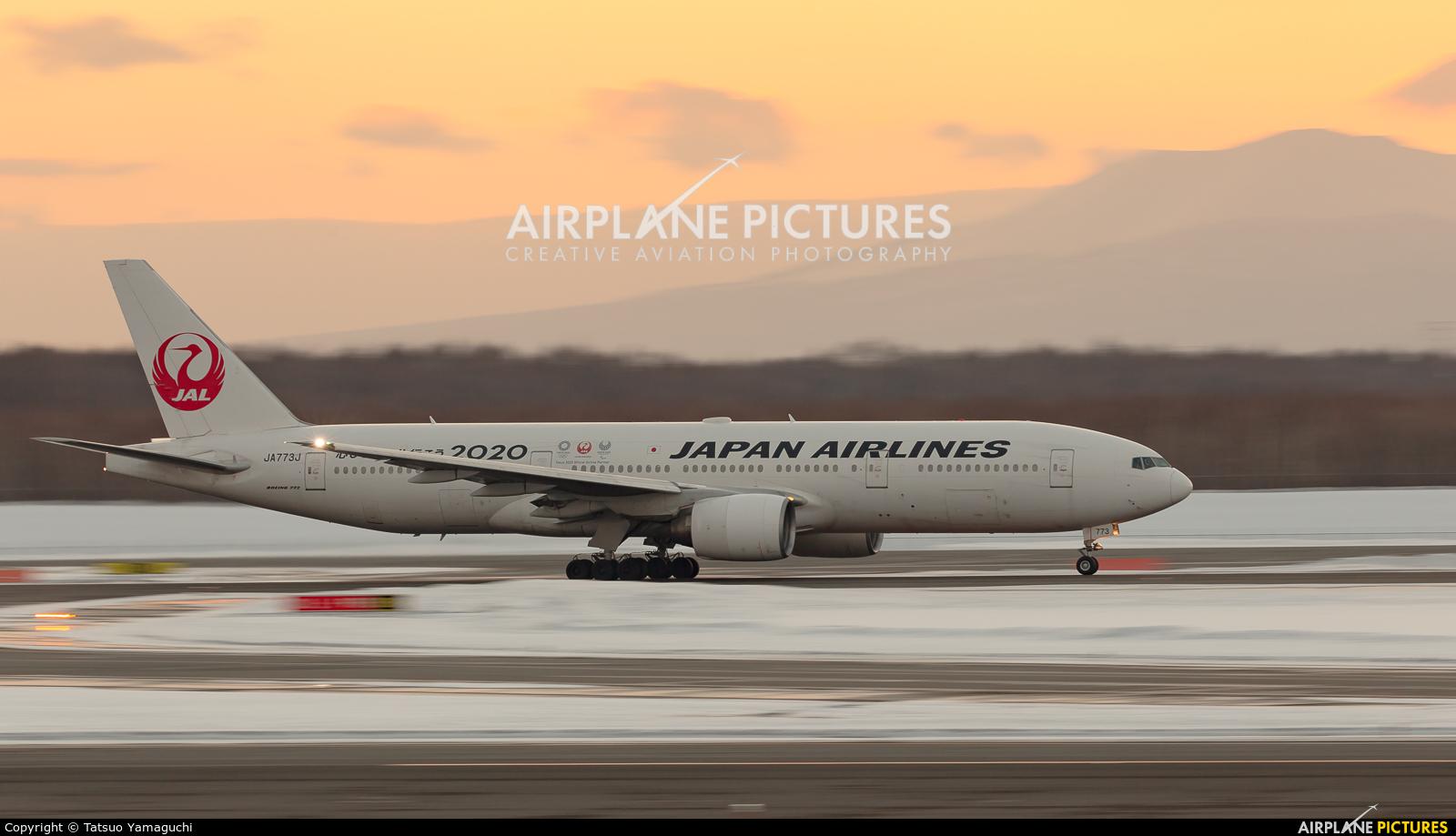 JAL - Japan Airlines JA773J aircraft at New Chitose