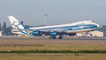 Air Bridge Cargo Boeing 747-8F visited Budapest title=